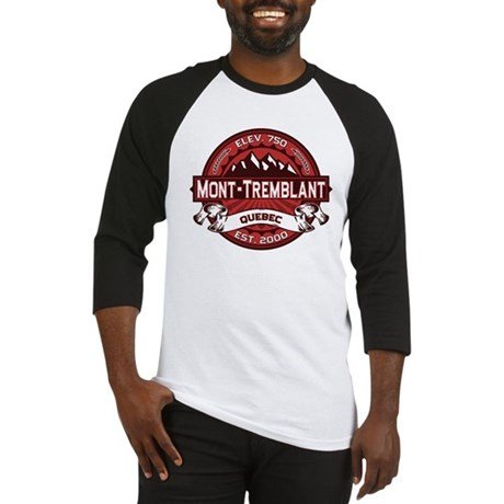 Mont-Tremblant Red Baseball Jersey