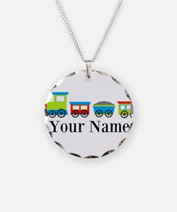 Personalizable Train Cartoon Necklace