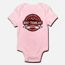Mont-Tremblant Red Infant Bodysuit