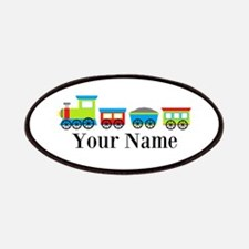 Personalizable Train Cartoon Patches
