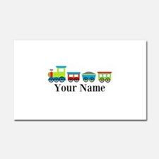 Personalizable Train Cartoon Car Magnet 20 x 12