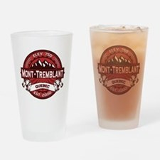 Mont-Tremblant Red Drinking Glass