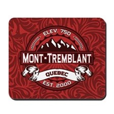 Mont-Tremblant Red Mousepad