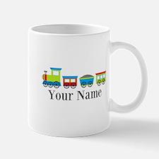 Personalizable Train Cartoon Mug
