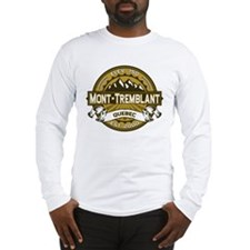 Mont-Tremblant Tan Long Sleeve T-Shirt