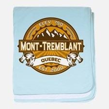 Mont-Tremblant Tan baby blanket