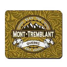 Mont-Tremblant Tan Mousepad