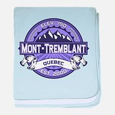 Mont-Tremblant Violet baby blanket