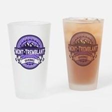 Mont-Tremblant Violet Drinking Glass