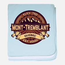 Mont-Tremblant Sepia baby blanket