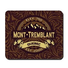 Mont-Tremblant Sepia Mousepad