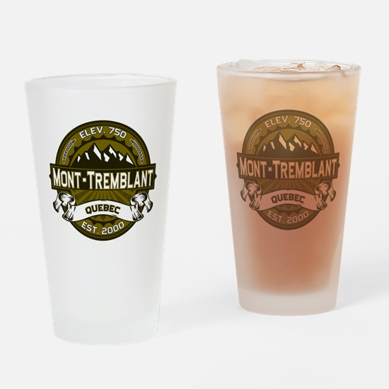 Mont-Tremblant Olive Drinking Glass