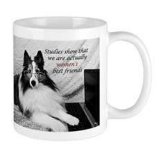 Studies show that we are woman's best friend Mug