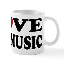 I Love Jazz Music Mug