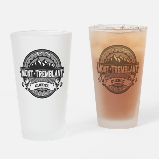 Mont-Tremblant Grey Drinking Glass