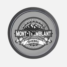 Mont-Tremblant Grey Wall Clock