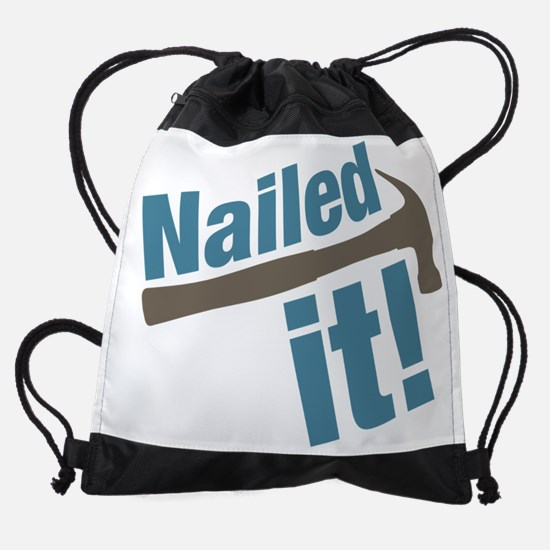 Nailed It Drawstring Bag