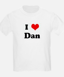 I Love Dan Kids T-Shirt