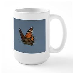 Monarch Butterfly Flying Mug