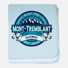 Mont-Tremblant Ice baby blanket