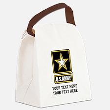 US Army Star Canvas Lunch Bag