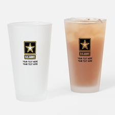 US Army Star Drinking Glass
