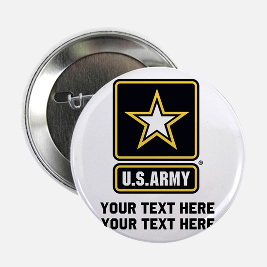 """US Army Star 2.25"""" Button"""