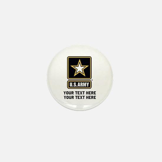 US Army Star Mini Button