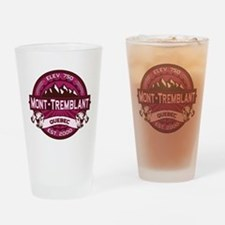 Mont-Tremblant Raspberry Drinking Glass
