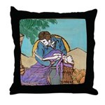 Last Dance Muerto Style Throw Pillow