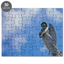 Low angle view of a statue of an angel, New Puzzle