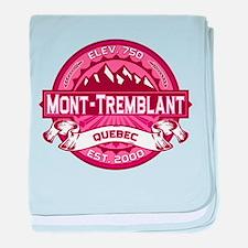 Mont-Tremblant Honeysuckle baby blanket