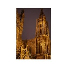 Cathedral Strasbourg Rectangle Magnet