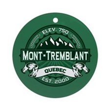 Mont-Tremblant Forest Ornament (Round)