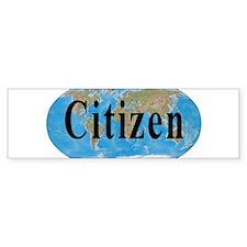 World Citizen Bumper Bumper Sticker