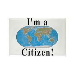 World Citizen Rectangle Magnet