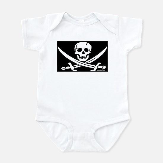 PIRATE FLAG Infant Bodysuit