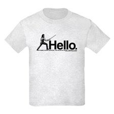 Princess Bride Inigo Montoya Kids T-Shirt