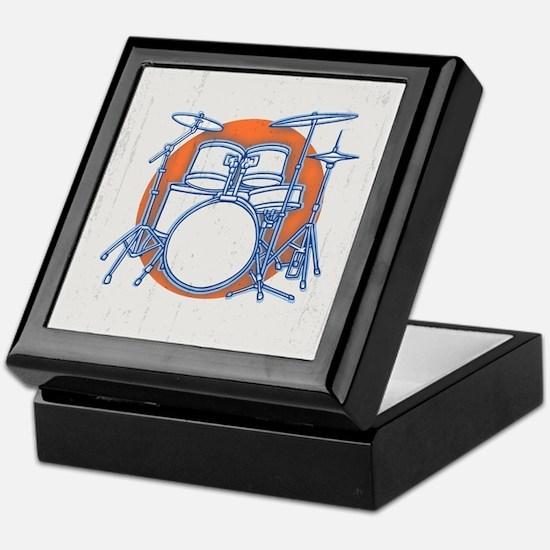 Offset Drum Kit Keepsake Box