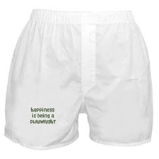 Happiness is being a PLAYWRIG Boxer Shorts