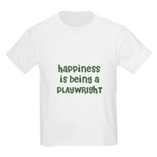 Happiness is being a PLAYWRIG Kids T-Shirt