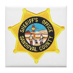 Sandoval Sheriff Tile Coaster