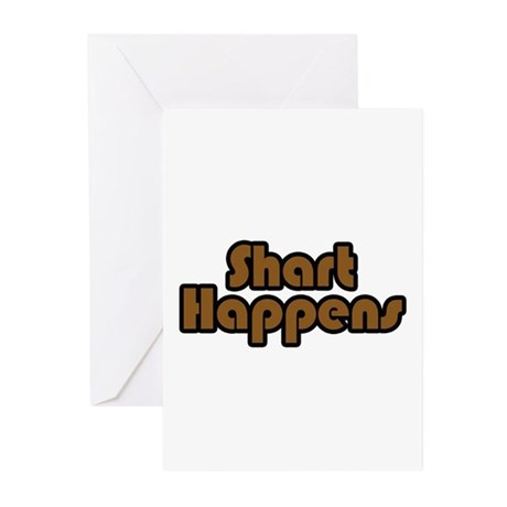 Shart Happens Greeting Cards (Pk of 10)