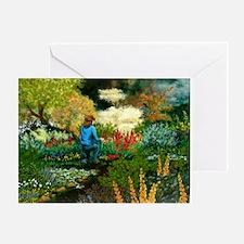 StephanieAM Garden Greeting Card
