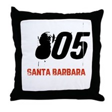 805 Throw Pillow