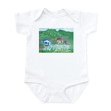 """""""Swamps"""" Infant Bodysuit"""