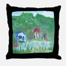 """""""Swamps"""" Throw Pillow"""