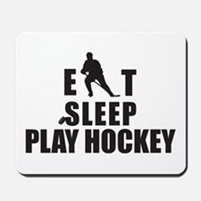 Eat Sleep Play Hockey Mousepad
