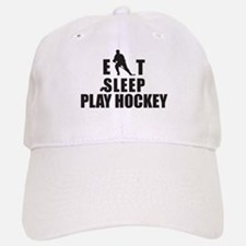 Eat Sleep Play Hockey Baseball Baseball Cap
