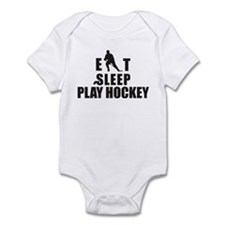 Eat Sleep Play Hockey Infant Bodysuit